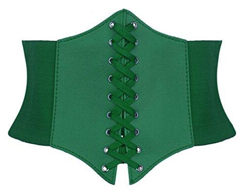 Underbust Corset Costumes - Alivila.Y Fashion Women's Faux Leather Underbust