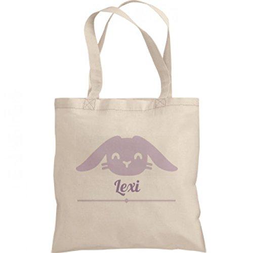 Cute Easter Bunny Bag Lexi: Liberty Bargain Tote Bag (Lexi Bunny)