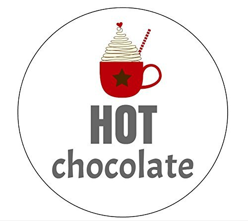 Hot Chocolate Stickers - Set of 20