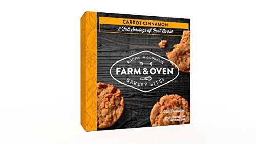 Carrot Cake Muffin - Farm & Oven Carrot Cinnamon Bakery Bites - 5 Pack. Carrot Cinnamon cake bites.