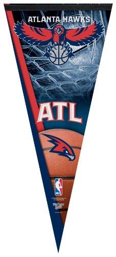 NBA Atlanta Hawks Premium Quality Pennant 17-by-40 inch by WinCraft