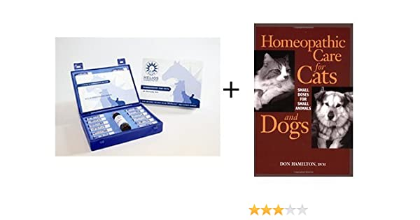 Homeopathy World Cat and Dog Pack - Book plus Homeopathic Care for Cats and  Dogs