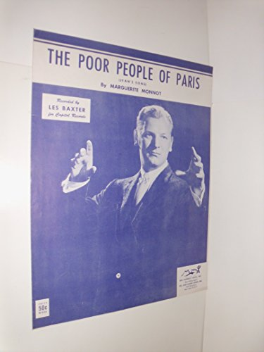 The Poor People Of Paris - recorded by Les Baxter