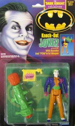 Batman The Dark Knight Collection KNOCK OUT JOKER Kenner 1990 (Dark Knight Collection)