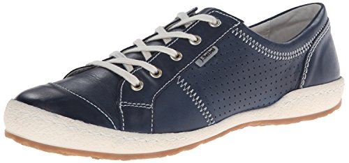 Josef Seibel Women's Caspian Fashion Sneaker, Denim, 38 EU/7-7.5 M US