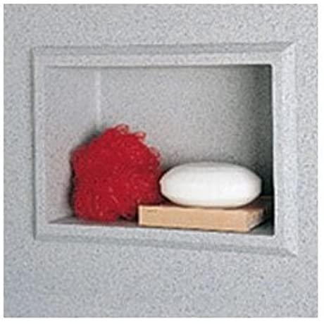 Recessed Shower Accessory Shelf Finish Arctic Granite