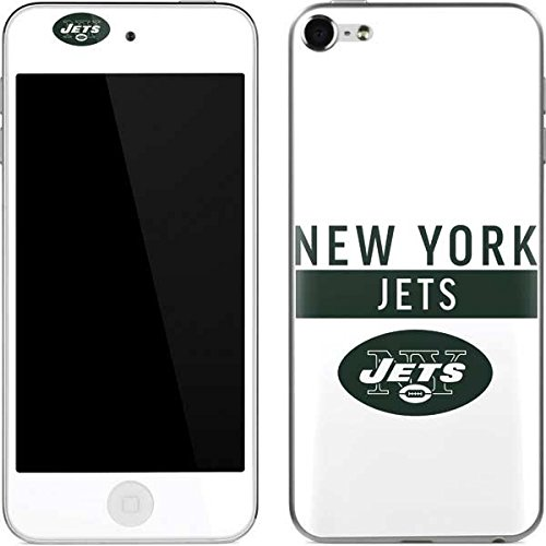Skinit NFL New York Jets iPod Touch (6th Gen, 2015) Skin - New York Jets White Performance Series Design - Ultra Thin, Lightweight Vinyl Decal Protection (Skin York Ipod Jets New)