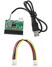 """sara-u 1.44MB 3.5"""" USB Cable Adapter to 34Pin Floppy Drive Connector U Disk to Floppy Disk PCB Board"""