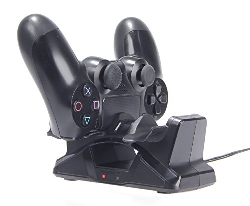 AmazonBasics Controller Charging Station for PlayStation 4 DualShock 4 Controllers