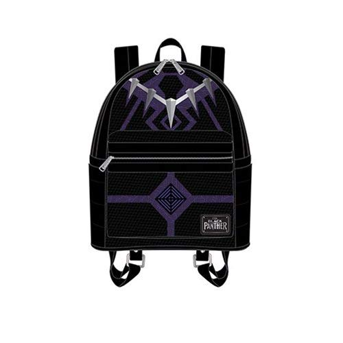 Loungefly: Black Panther Faux Leather Mini Backpack - Panther Leather