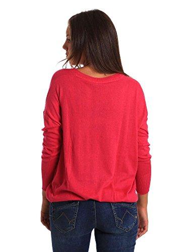 Donna PL701104 Fuchsia Jeans Pepe Maglioncino fAqUxYw