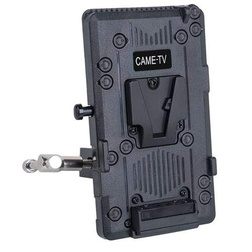 CAME-TV V-Lock Plate with Clamp, and D-Tap by CAME-TV