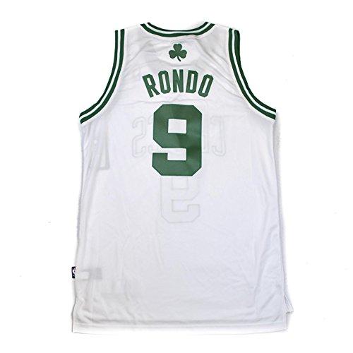 NBA Boston Celtics Rajon Rondo Swingman Jersey, White, (Boston Celtics Swingman Jersey)