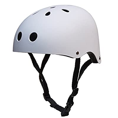 Leoie Round Mountain Bike Helmet Sport Accessories Strong Road MTB Bicycle Helmet Frosted Yellow L Suitable for Head Circumference 57-60CM: Home & Kitchen