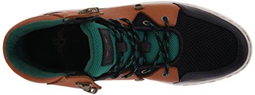 Creatieve Recreatie Heren Spero Fashion Sneaker Zwart / Bruin / Groen