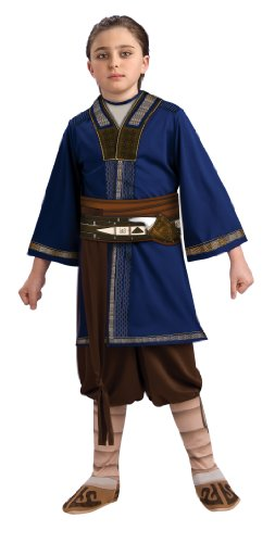 Bender Costume (The Last Airbender Child's Costume, Sokka Costume-Large)
