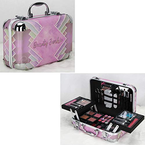 Ver Beauty 61-Piece Makeup Gift Set Kit Train Case for sale  Delivered anywhere in Canada