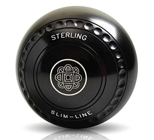 Set of 4 Taylor Lazer Progrip Slim Profile Black Heavy Indoor Outdoor Bowls
