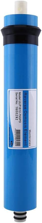 NITRIP Membrane ULP1812-75 GPD de Filtre deau dosmose Bleue de pour la Maison