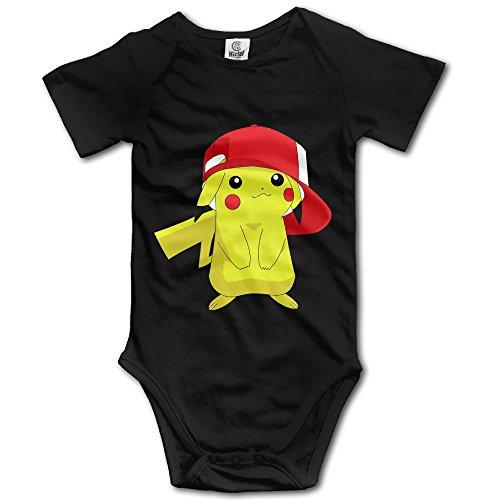 Price comparison product image Pokemon Go Pikachu Design Baby Girl Boy Rompers Jumpsuit Cotton