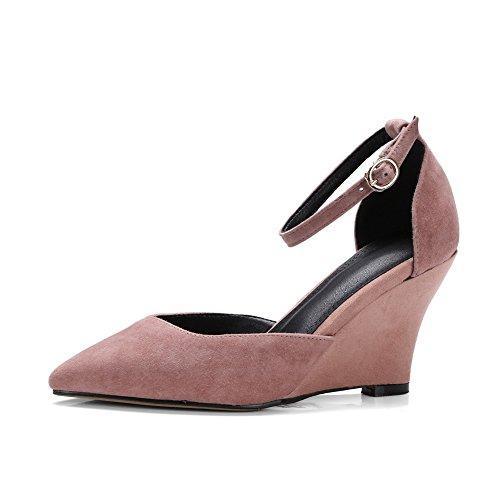 Sandales Compensées Femme 1TO9 Inconnu Rose 186q7wwx