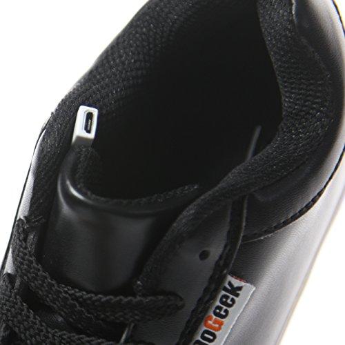 Nero Luminosi Bambino Accendono Scarpe con LED DoGeek Sportive Le Sneakers Luci Bambino Scarpe Scarpe OBBxtS4q