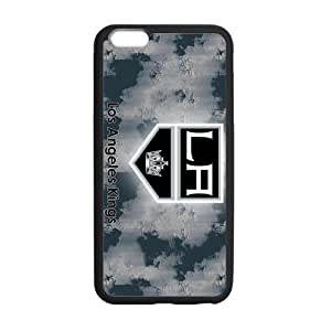 Print NHL Famous Los Angeles Kings Team Logo-Slim Stylish Protective Case for iPhone 6 (Plus 5.5 inch) Laser Technology