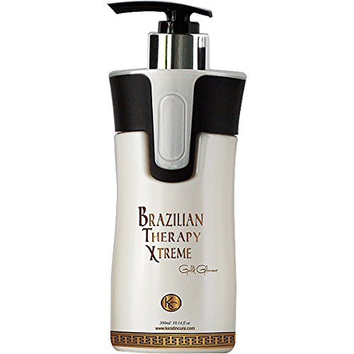Keratin Cure % Formaldehyde Treatment - BTX BeTheExtreme Smoothing Repair Shine Great for Blondes! 10.14 Oz /300ml by Keratin Cure