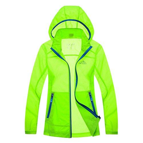 homaok-unisex-uv-protect-quick-dry-skin-coat-shiny-green
