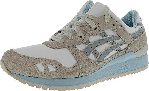 ASICS Women's Gel-Lyte III White/Light Grey Ankle-High Fashion Sneaker - 11M