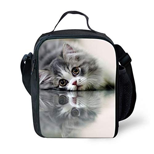 W3760G School 3Pcs W3760g Cat Backpack Set Adorable ft78qzXR