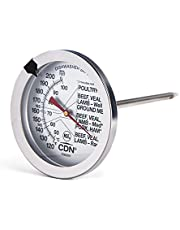 CDN Meat/Poultry Oven Proof Thermometer, Silver