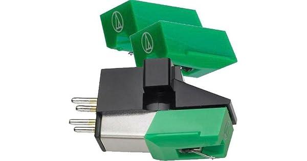 Amazon.com: Audio-Technica Dual Imán Phono Cartridge (AT95E ...