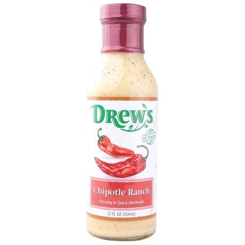 drews-all-natural-chipotle-ranch-dressing-and-quick-marinade-12-fluid-ounce-6-per-case-by-drews-all-