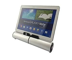 ONEKLICK universales estéreo de sonido de altavoz con soporte de trípode para función Bluetooth y cable de carga Compatible con todos los dispositivos móviles y Tablets y el Motion Computing CL900