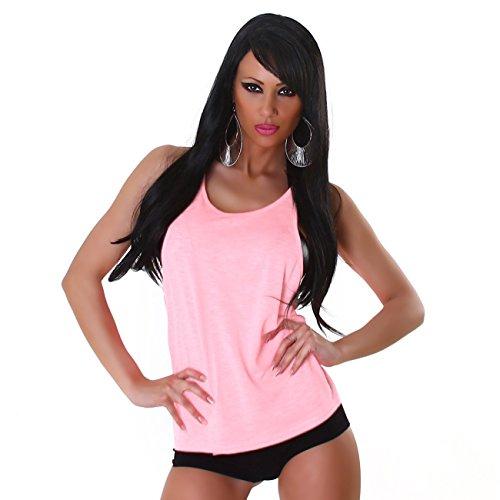 unbekannt - Camiseta - para mujer Rosa