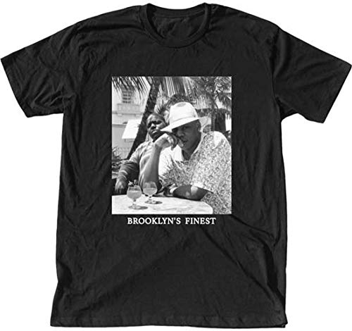 Jay-Z and Notorious B.I.G. Brooklyn's Finest T-Shirt New