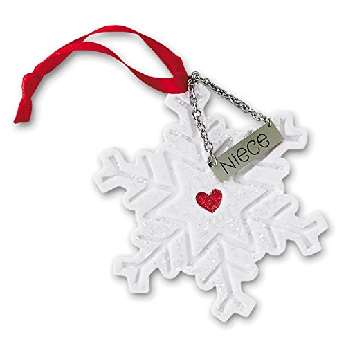 (Hallmark Direct Imports 2015 Niece Snowflake Ornament )