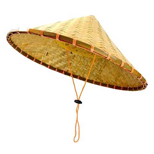 Outdoor Shaping Chinese Bamboo Coolie Hat