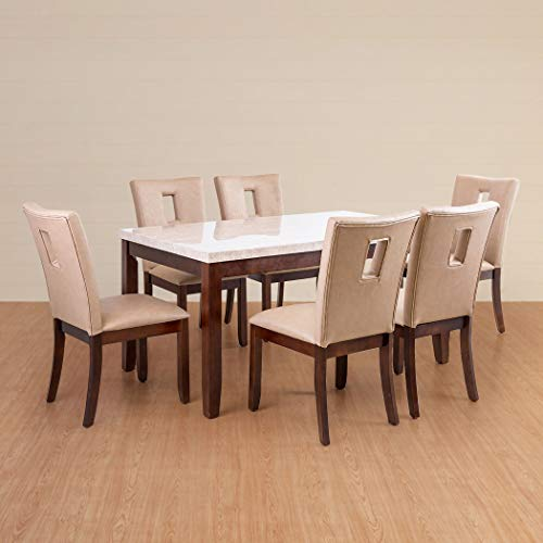 Home Centre Oxville 6 Seater Dining Table Set with Chair