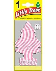 LITTLE TREES U1P-10348 Aromatizante Pino de Papel, 1 Pieza Aroma Bubble Gum