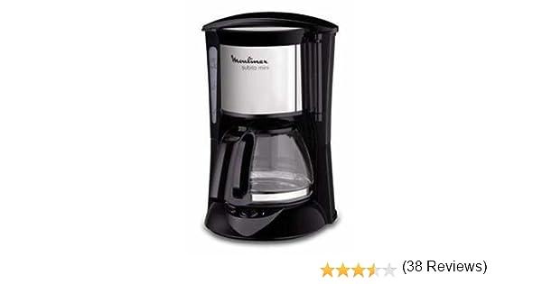 Moulinex Subito - Cafetera filtro, 6 tazas, 650 W, dispositivo ...