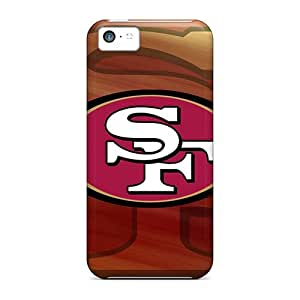 Excellent Hard Phone Cover For Iphone 5c (fKD17718TLWx) Provide Private Custom Fashion San Francisco 49ers Pattern