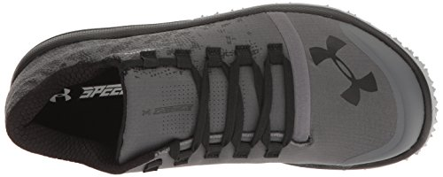 Under Armour Women's Speed Tire Ascent Low, Rhino Gray/Black/Black, 5.5 B(M) US by Under Armour (Image #8)