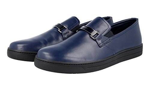 Prada Men's 4D2906 Leather Loafers N36xv280O