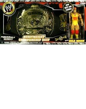 WWE Classic Hulk Hogan Heavyweight Championship Belt & Figure Set by WWE