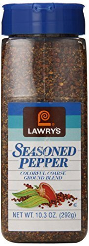 Lawry's Seasoned Pepper, 20.6 oz (2 Bottles of 10.3 oz) Kosher Certified by OU by Lawry's (Image #5)
