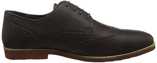 Milled Zapatos de Tape Hombre Red Brickhill Brown Vestir Brown q0EZRw