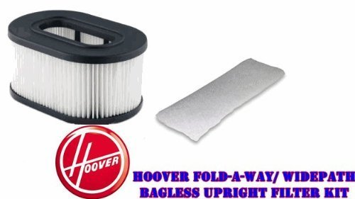 - Hoover Fold-A-Way/ WidePath Bagless Upright HEPA & Exhaust Filter Kit