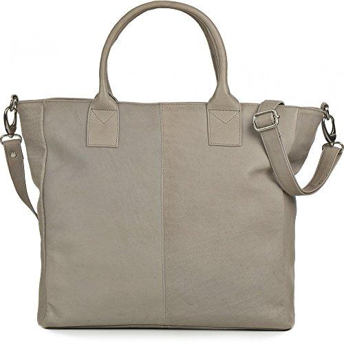 Liscia Tote Grigio Bag Phil Sophie 801 Pelle Donne Le Chiaro Per grigio xaOqIOn8w
